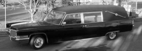 Custom Coffin Works 1970 Cadillac Hearse